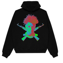 Load image into Gallery viewer, YoungBoy NBA X VLONE Sticks Hoodie in Black + Digital Album