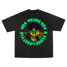 Load image into Gallery viewer, YoungBoy NBA X VLONE Cross Roads Tee + Digital Album