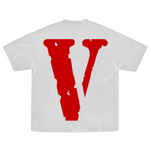 Load image into Gallery viewer, YoungBoy NBA X VLONE Reaper's Child Tee in White + Digital Album