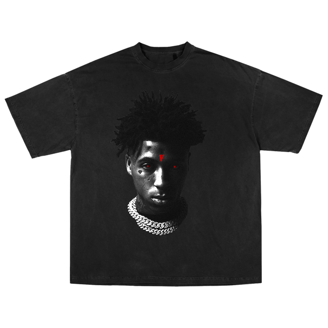 YoungBoy NBA X VLONE Reaper's Child Tee in Black