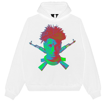 Load image into Gallery viewer, YoungBoy NBA X VLONE Sticks Hoodie in White