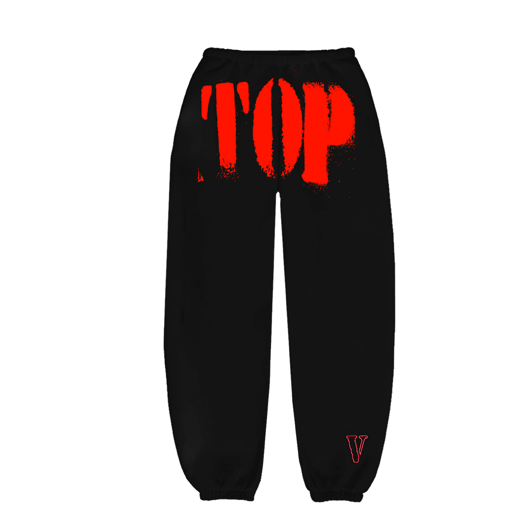 YoungBoy NBA X VLONE TOP Sweatpants in Red + Digital Album