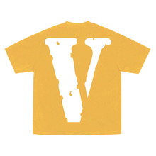 Load image into Gallery viewer, YoungBoy NBA X VLONE Peace Hardly Tee in Yellow