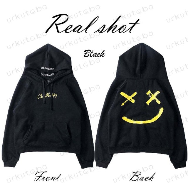 Hot Sell 2019 Cool Style Men New Design Patchwork Hip-hop Hoodies Male Fashion Long Sleeve Hooded Sweatshirt Outwear Plus Size