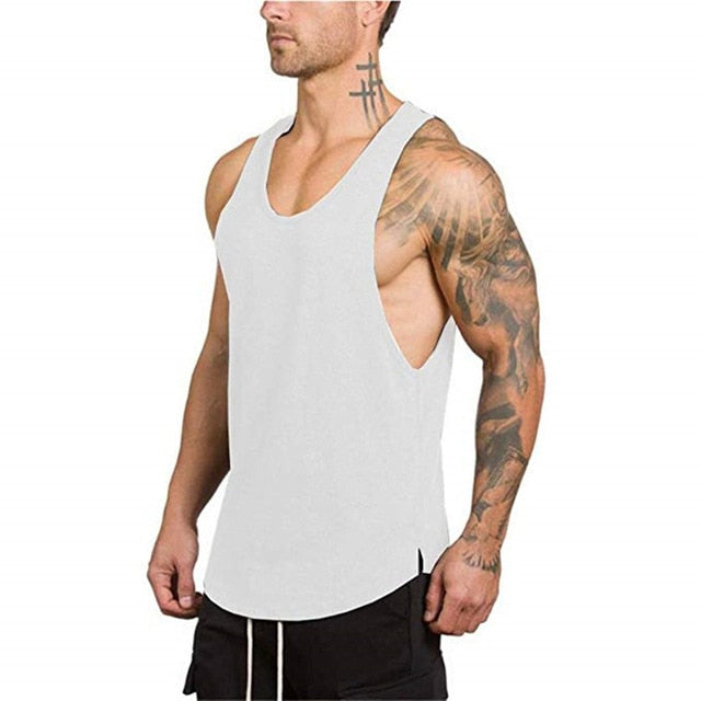 Seven Joe cotton sleeveless shirts tank top men Fitness shirt mens singlet Bodybuilding workout gym vest fitness men