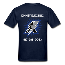 Load image into Gallery viewer, Kinney Electric Gildan Ultra Cotton Adult T-Shirt - navy