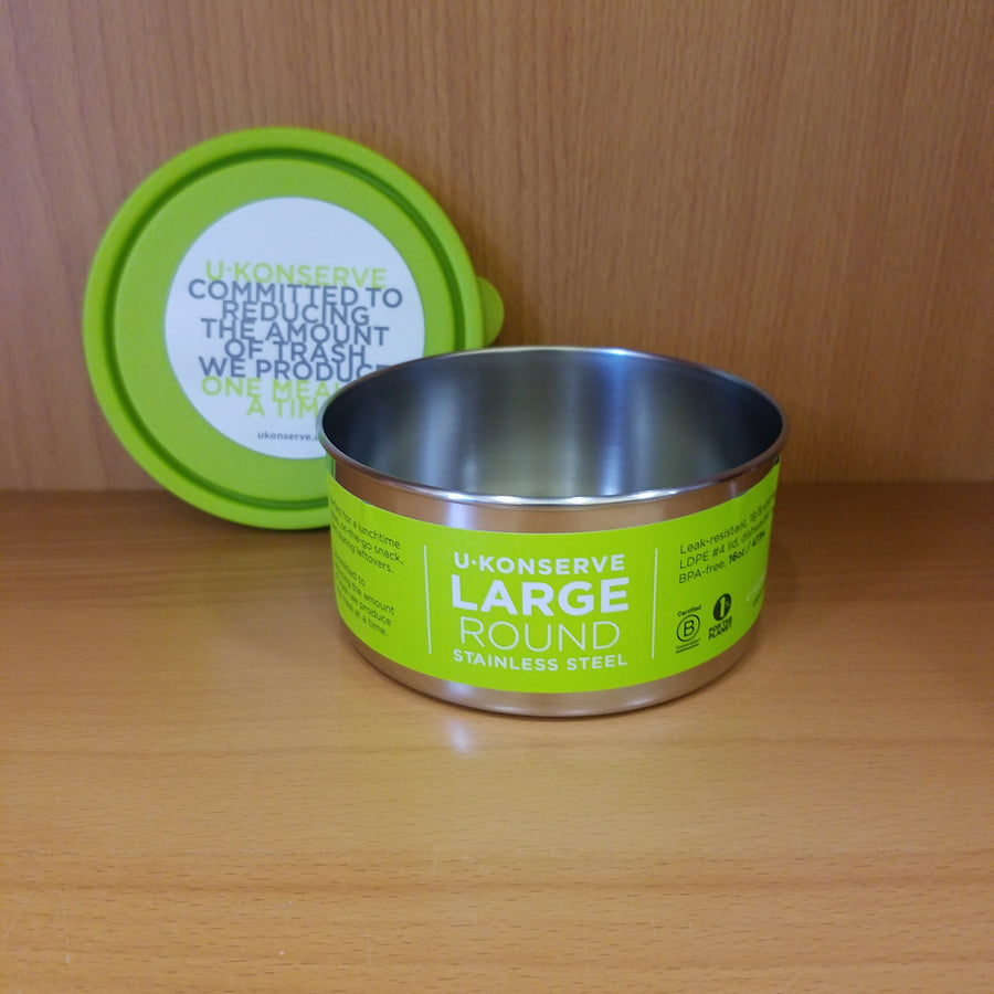 Round Large 16oz - Lime