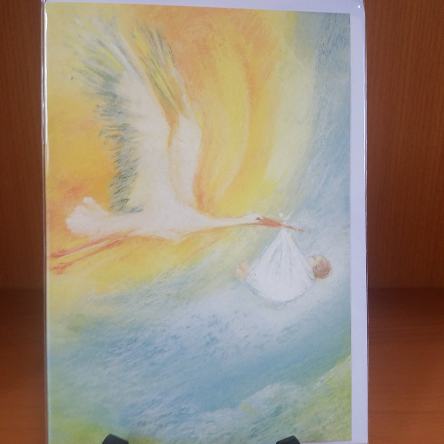 Postcard - The Stork (Card with Envelope)