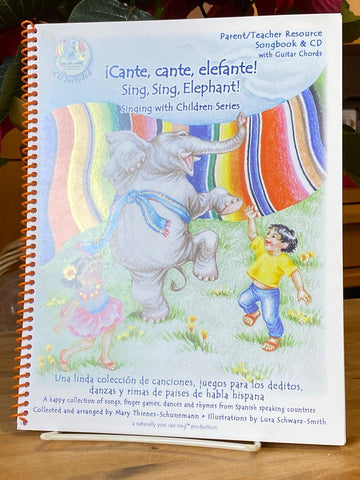 Music Books - Cante, cante, elefante! Sing, Sing, Elephant!