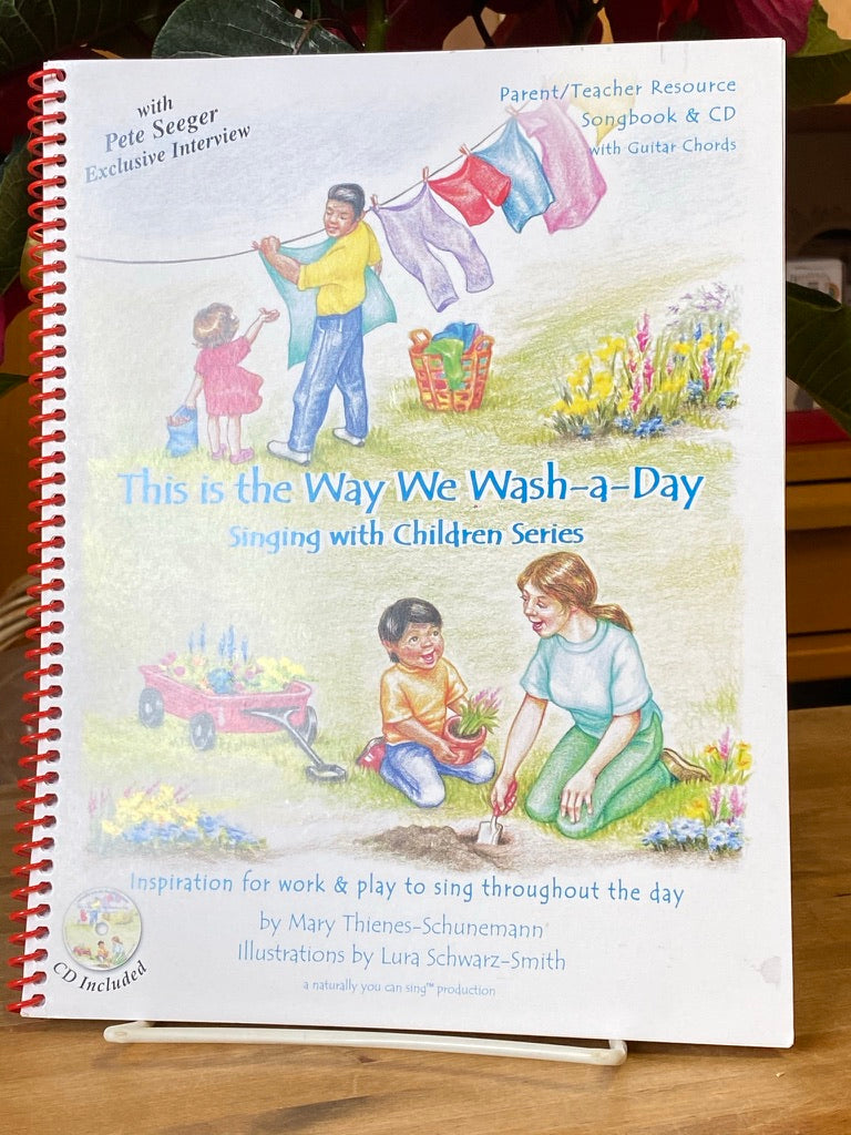 Music Books - The is the Way We Wash-a-Day