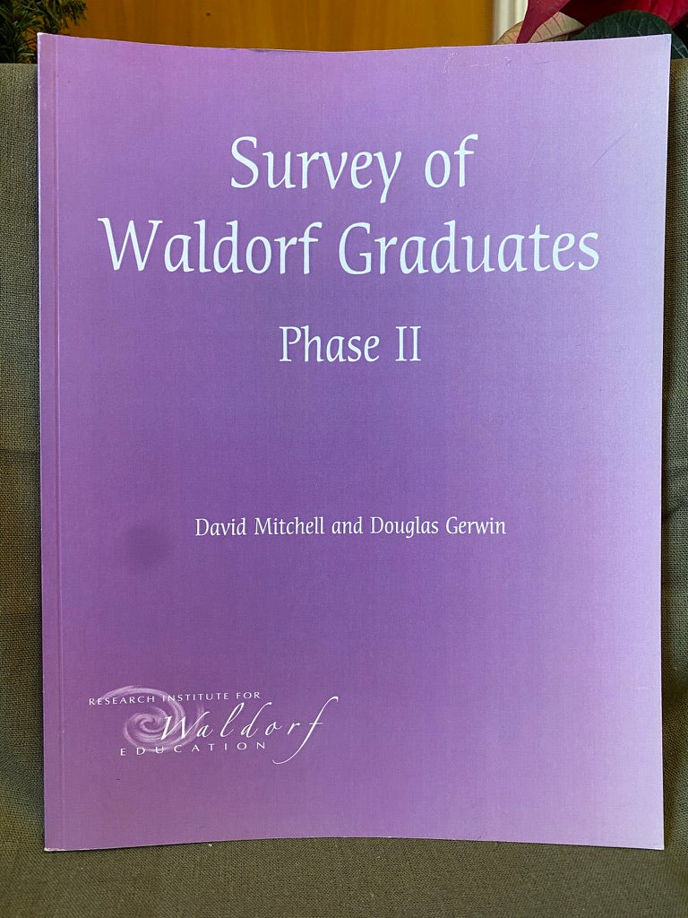 Books - Survey of Waldorf Graduates, Phase II