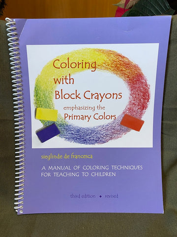 Books - Coloring with Block Crayons