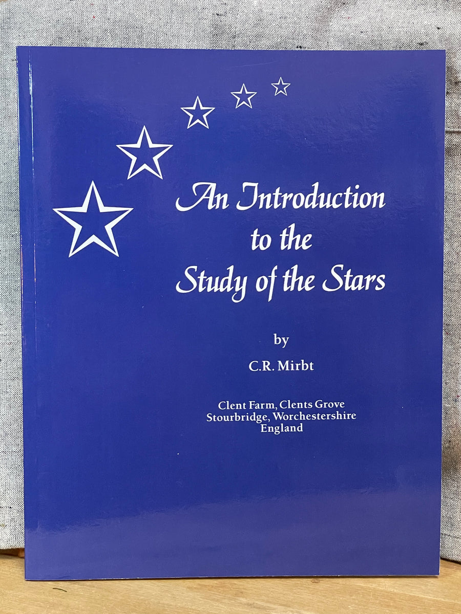 Books - An Introduction to the Study of the Stars