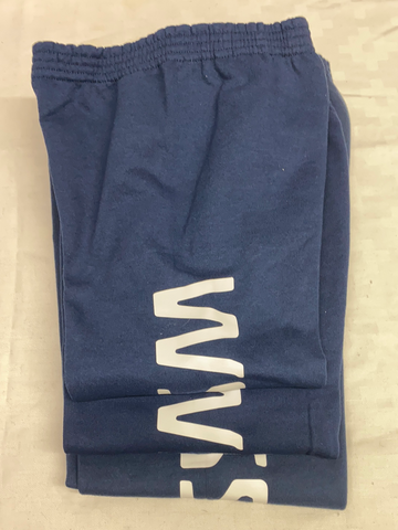 IN STOCK - Youth - Navy Fleece Sweatpants - Vinyl
