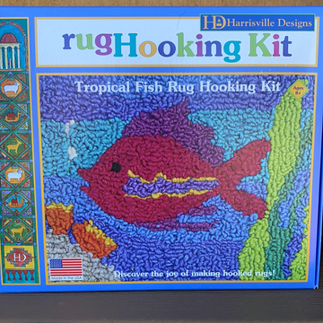 Rug Hooking Kit - Fish