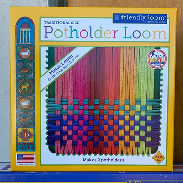 Potholder Metal Loom Traditional 7