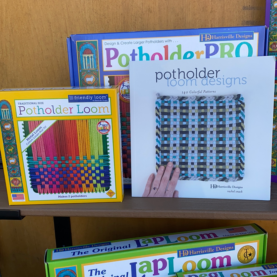 Book - Potholder Loom Designs