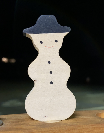 Grimm's Decorative Figure Snowman