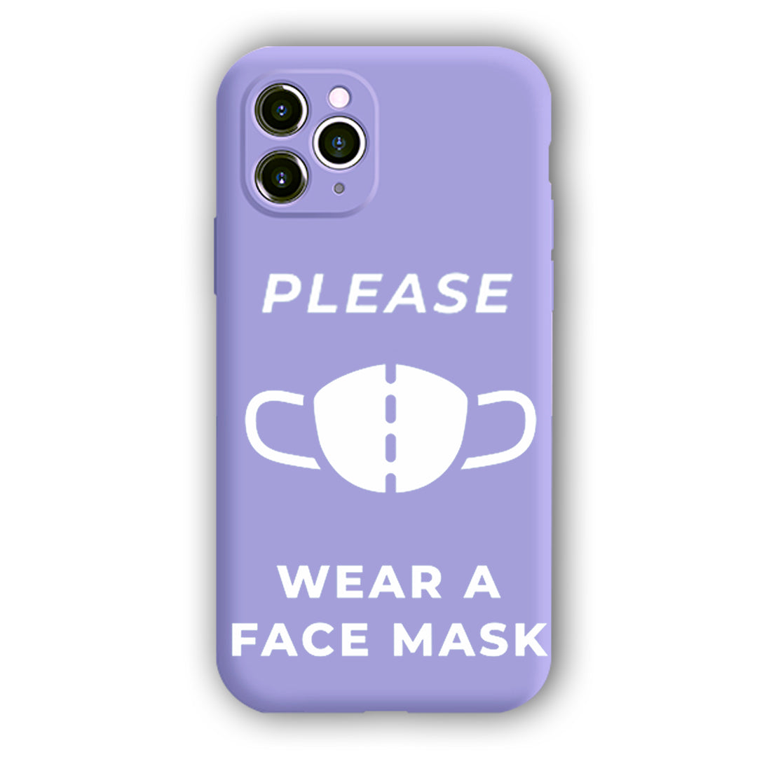 [Please Wear A Face Mask]Complete iPhone Models New Liquid Silicone Mobile Phone Case