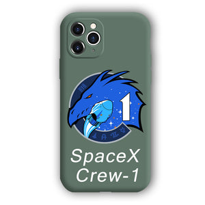 [SpaceX  Crew-1]Complete iPhone Models New Liquid Silicone Mobile Phone Case