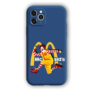 [Ronald McDonald]Complete iPhone Models New Liquid Silicone Mobile Phone Case