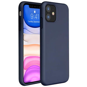 Liquid Silicone Case Compatible with Complete iPhone Models  Gel Rubber Full Body Protection Cover Case Drop Protection Case (10 Colors)