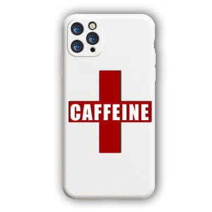 [Coffeeine]Complete iPhone Models New Liquid Silicone Mobile Phone Case