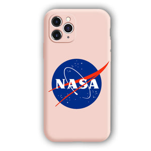[Nasa]Complete iPhone Models New Liquid Silicone Mobile Phone Case