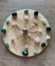 Load image into Gallery viewer, Sea Turtle Crystal Grid