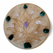 Load image into Gallery viewer, Crystal Grid Stone Set - Love