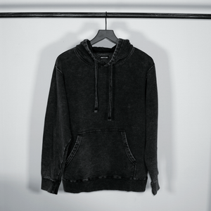 MEN'S 'UGLY' HOODIE - BLACK DENIM
