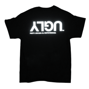 3M REFLECTIVE 'UGLY' TEE - BLACK