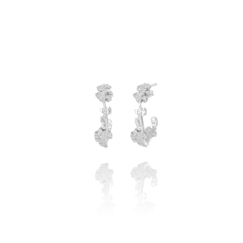 Erika Collection 107 - Stud Earrings in 925 Sterling Silver - AURUM Icelandic Jewelry