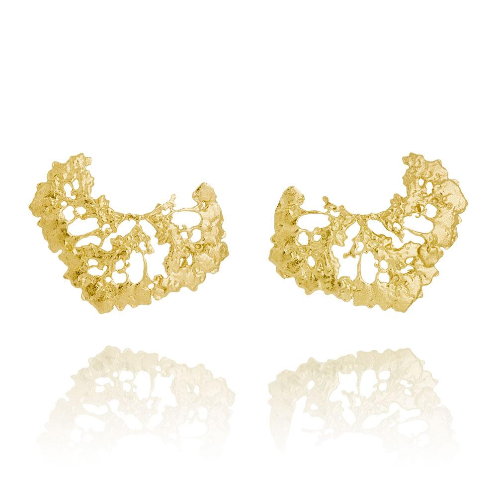 Erika Collection 110 GP - Earrings in Gold-Plated 925 Sterling Silver - AURUM Icelandic Jewelry