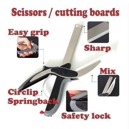 Clever Cutter - Cutting Board Scissors