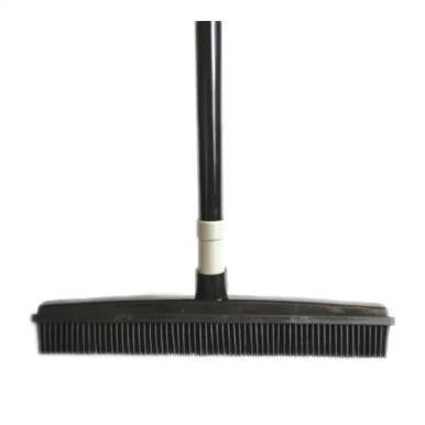 Rubber Broom - Pet Hair Broom - Rubber Bristle Broom