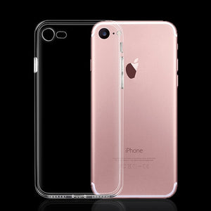 Ultra Thin Slim Transparent Soft TPU Phone Case For iPhone 7 8 Plus Capa Clear Cases For iPhone Xs 11 Pro Max X XR 6s 6 5s Case