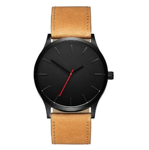 Leather Quartz Casual Sports Watches