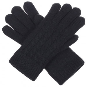 Double Layered Knit Gloves