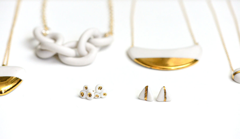 porcelain anniversary jewelry