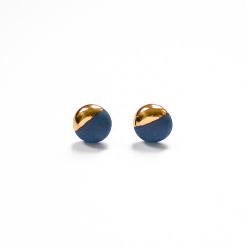 Dipped Studs - Navy