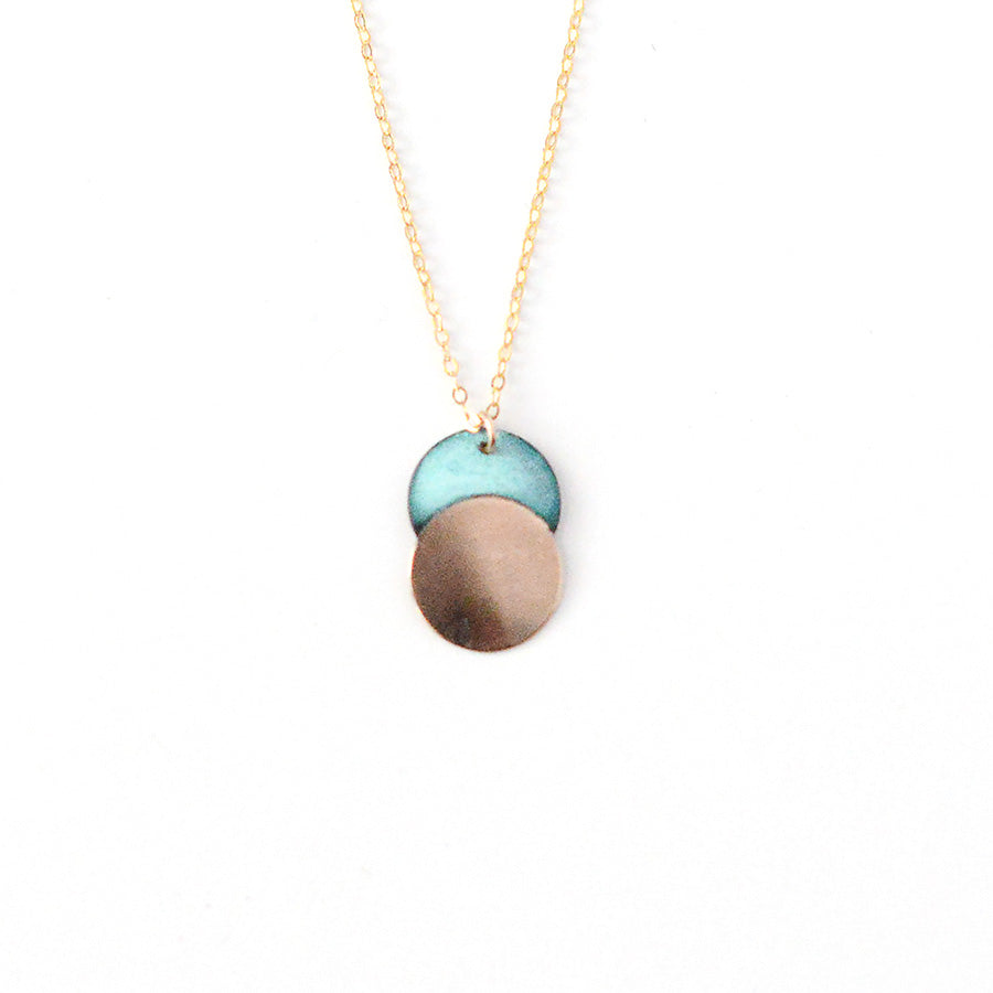 Patina Moonrise Necklace
