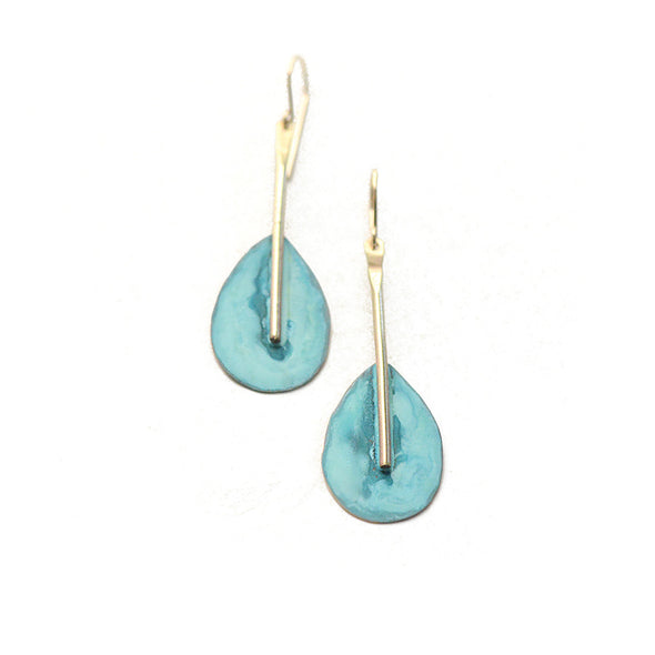 patina earrings, summer jewelry, patina jewelry