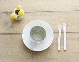 Porcelain Spoons - Set of 10