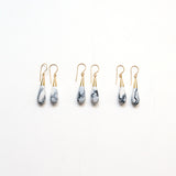 Marbled Porcelain Drop Earrings