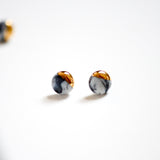 Marble Dipped Studs - Mini