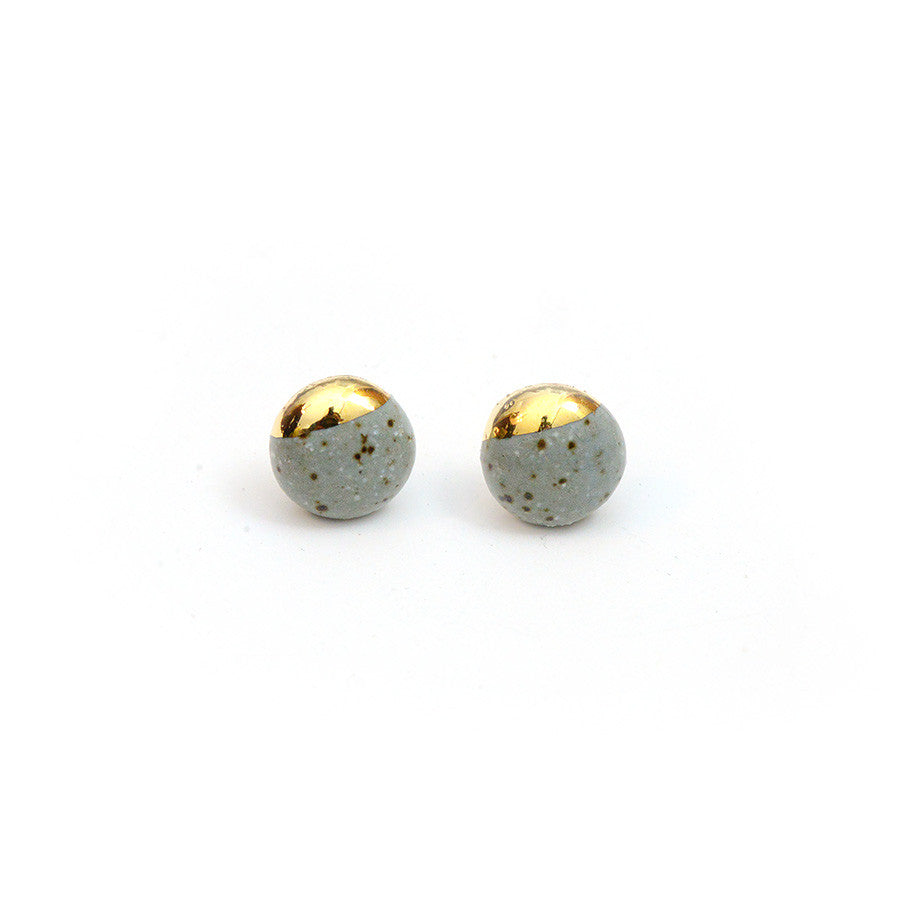 Dipped Studs - Speckled Stone Minis