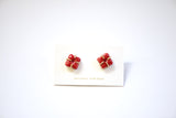 Pinot Pillow Prong Set Earrings - Heritage Studs