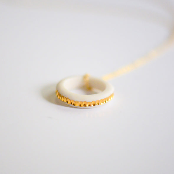 River Ring Necklace