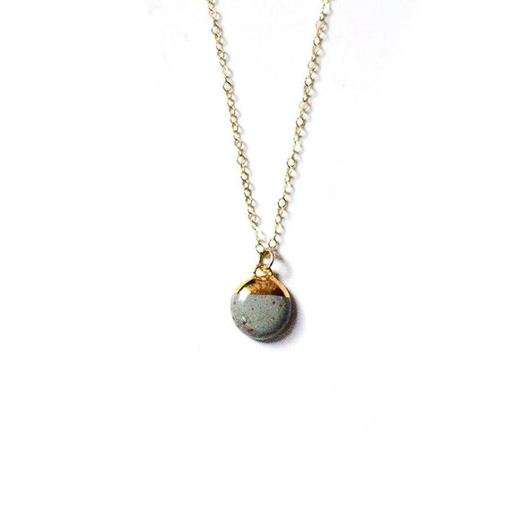 Dipped Buoy Charm Necklace